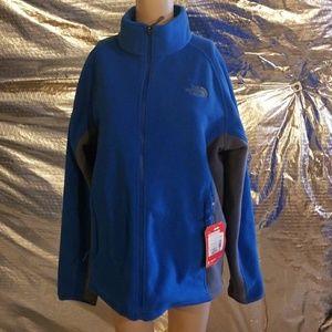 North Face KHUMBU Fleece Jacket BLUE men's